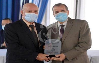 Forum économique algéro-libyen et Foire des produits algériens destinés au marché libyen: Cérémonie en l'honneur des organisateurs
